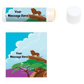Lion Kingdom Personalized Lip Balm (12 Pack)
