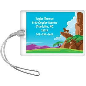 Lion Kingdom Personalized Luggage Tag (each)