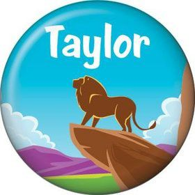 Lion Kingdom Personalized Mini Magnet (each)