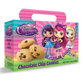 Little Charmers Chocolate Chip Cookies 2oz Box (Each)