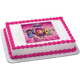 Little Charmers Quarter Sheet Edible Cake Topper (Each)