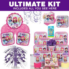 Little Charmers Ultimate Tableware Kit (Serves 8)