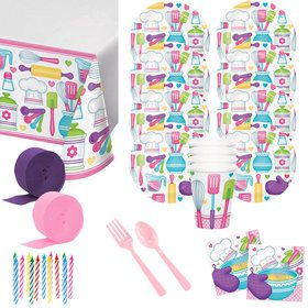 Little Chef Deluxe Tableware Kit (Serves 8)