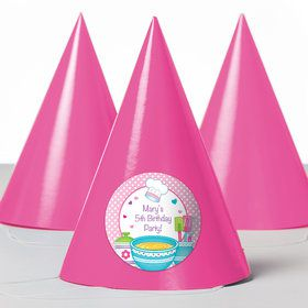 Little Chef Personalized Party Hats (8 Count)