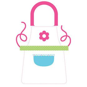 Little Chef Plastic Apron 4ct