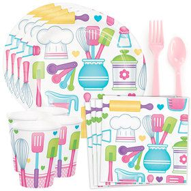 Little Chef Standard Tableware Kit (Serves 8)