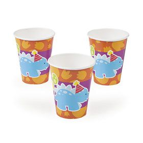 Little Dino 9oz Paper Cups (8)