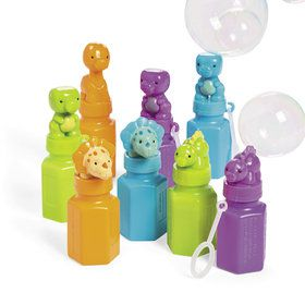 Little Dino Bubble Bottles (12)