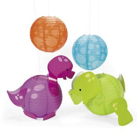 Little Dino Paper Lanterns (4)