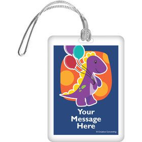 Little Dino Personalized Bag Tag (Each)