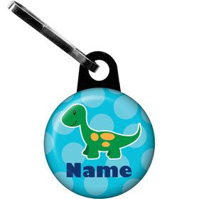 Little Dino Personalized Zipper Pull (Each)