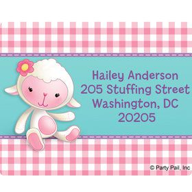 Little Doc Personalized Address Labels (Sheet of 15)