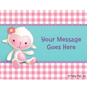Little Doc Personalized Rectangular Stickers (Sheet of 15)