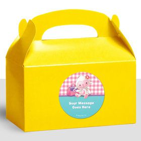 Little Doc Personalized Treat Favor Boxes (12 Count)