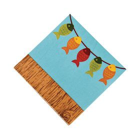 Little Fisherman Lunch Napkins (16)