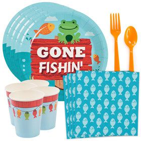 Little Fisherman Standard Tableware Kit (Serves 8)