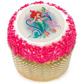 "Little Mermaid 2"" Edible Cupcake Topper (12 Images)"