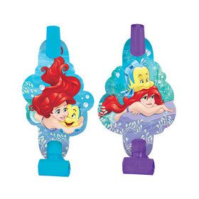 "Little Mermaid 5"" Blowouts (8 Pack)"
