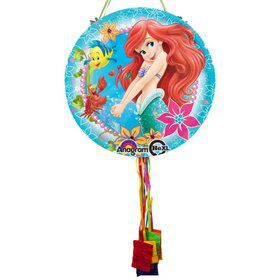 Little Mermaid Ariel Pull String Pinata