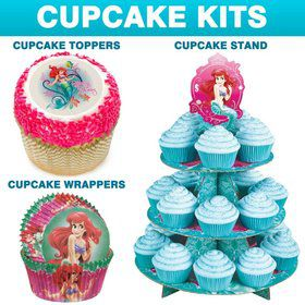 Little Mermaid Cupcake Kit