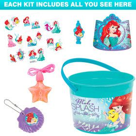 Little Mermaid Deluxe Favor Kit (for 1 Guest)