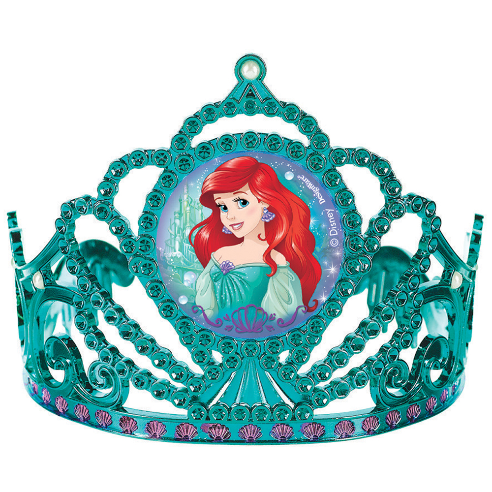 Little Mermaid Electroplated Tiara (Each) - Party Supplies