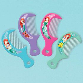 Little Mermaid Hair Comb Favors (12 Pack)