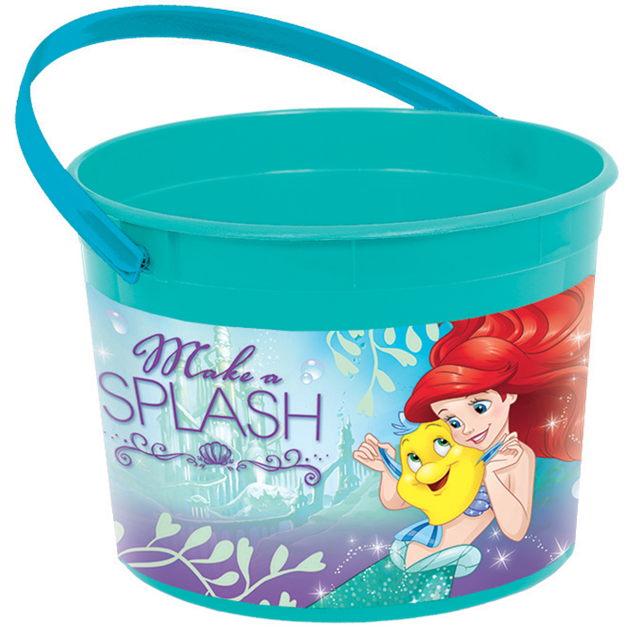 Little Mermaid Plastic Favor Container (Each) BB266658