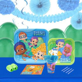 Bubble Guppies 16 Guest Tableware Deco Kit