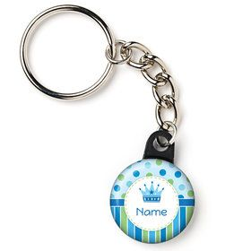 "Little Prince Personalized 1"" Mini Key Chain (Each)"