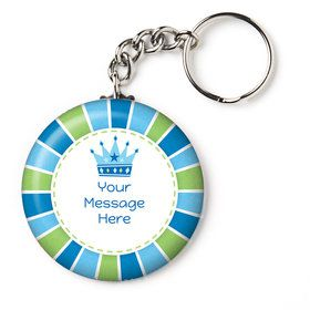 "Little Prince Personalized 2.25"" Key Chain (Each)"