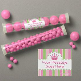 Little Princess Personalized Candy Tubes (12 Count)