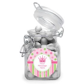 Little Princess Personalized Glass Apothecary Jars (12 Count)
