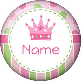 Little Princess Personalized Mini Button (Each)