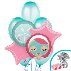Little Spa Party Balloon Bouquet