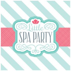 Little Spa Party Lunch Napkins
