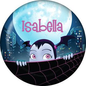 Little Vampire Personalized Button (Each)