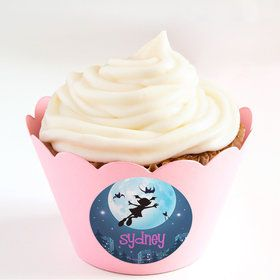 Little Vampire Personalized Cupcake Wrappers (Set of 24)