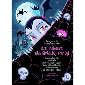 Little Vampire Personalized Invitation (Each)