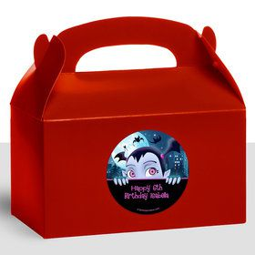 Little Vampire Personalized Treat Favor Boxes (12 Count)