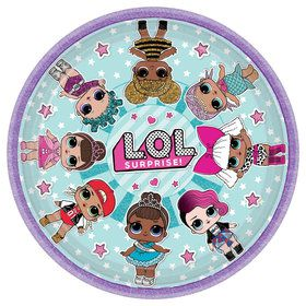 "LOL Surprise 9"" Lunch Plates (8)"