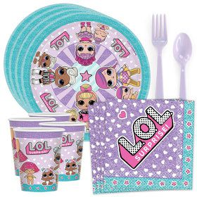LOL Surprise Standard Tableware Kit (Serves 8)
