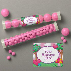 Loopy Rag Dolls Personalized Candy Tubes (12 Count)