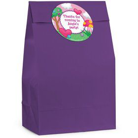 Loopy Rag Dolls Personalized Favor Bag (Set Of 12)