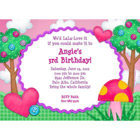Loopy Rag Dolls Personalized Invitation (Each)