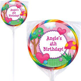 Loopy Rag Dolls Personalized Lollipops (Pack Of 12)