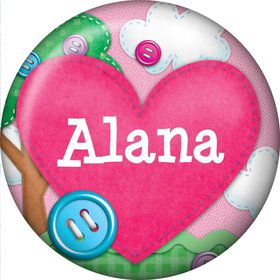 Loopy Rag Dolls Personalized Mini Magnet (Each)