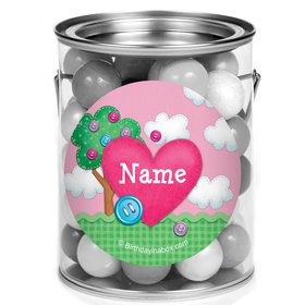 Loopy Rag Dolls Personalized Mini Paint Cans (12 Count)