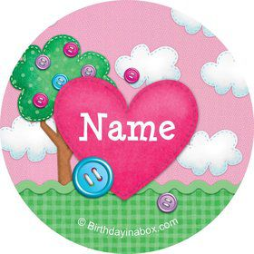 Loopy Rag Dolls Personalized Mini Stickers (Sheet of 24)
