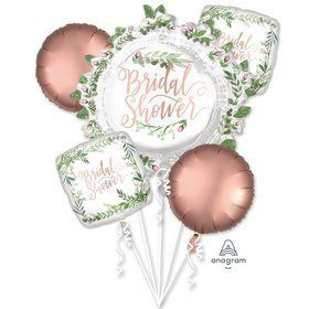 Love & Leaves Bridal Shower Balloon Bouquet